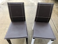 NEW FAUX LEATHER CHAIRS  Edmonton, T6X 0A2