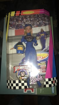 50th Anniversary Nascar barbie doll Waterloo, 50703