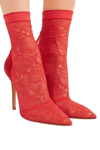 gianvito rossi red lace heels Vancouver, V6B 2K8