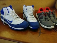 Nike and Reebok. (Two pairs for 20$) Fall River, 02720