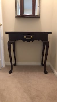 Bombay card table or hall table