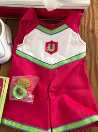American Girl cheerleading outfit -New