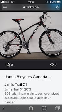 Mountain bike Jamis -