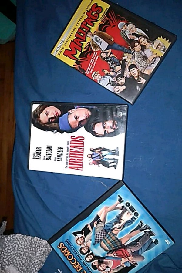 DVD's (COMEDY) 3 DIFFERENT MOVIE'S 0