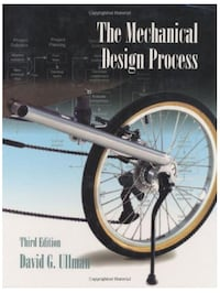 Mechanical Design Process - David G Ullman Kitchener, N2P 2L8