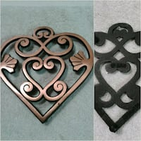 Cast iron pampered chef trivet