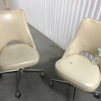 Leather chairs long lasting that roll Miami Gardens, 33056