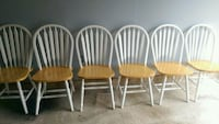 Six Farmhouse Chairs 49 km