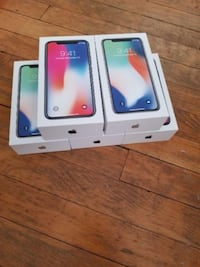 Новый Apple iPhone X 64GB / 256GB Factory Unlocked Pushkin