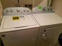 white washer and dryer set Lake Ridge, 22192