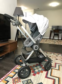 Stroller Stokke Scoot with Maxi-Cosi car seat Reston, 20194
