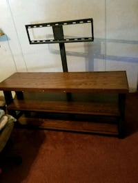 brown wooden 3-layer TV stand 70 km