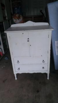white wooden cabinet with drawer MCMINNVILLE
