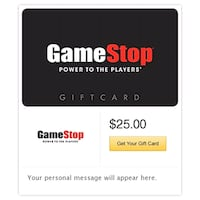 25$ Gamestop Card Certificate Paterson, 07513