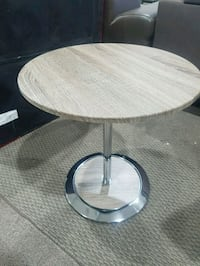 Brand new -  Chrome Accent Table with Adjustable  Mississauga, L4X 1P2