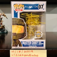 Funko POP! Steve Downes Autographed Chief Chantilly