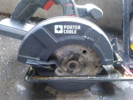 Porter-Cable skil saw 18- volt.