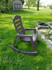 Outdoor resin rocking chair  Akron, 44333