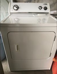 white front-load clothes dryer Laval, H7W 1P2