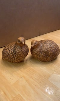 Norcrest Japan bird figurines