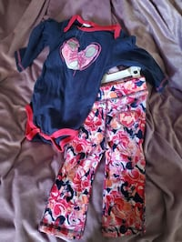 Rebook outfit  nwt 6/9 mo