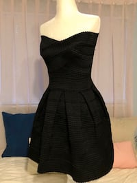 Black strapless semi-formal dress - size small Coral Springs, 33065
