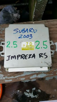 Subaru Impreza 2003 ECU 2.5 engine