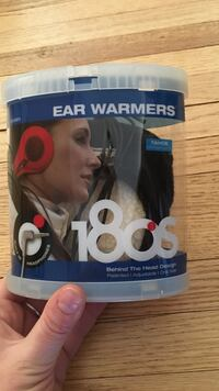Ear warmers with built in headphones- brand new in box Robbinsdale, 55422
