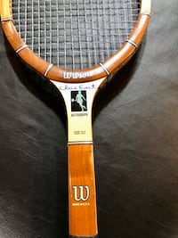 Wilson Chris Evert Autograph Vintage Wood Tennis Racquet