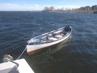 17 ft Dory with trailer $1450 .  Oakdale, 11769