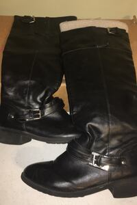 Women's black fashion boots size 9M Glenwood, 51534