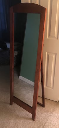 Tall Wood Mirror OBO Gainesville, 20155
