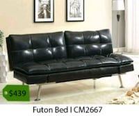 black leather tufted sectional sofa Tustin, 92780