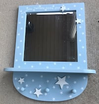 Cute star theme mirror & robe hanger for baby's room Perry Hall, 21128