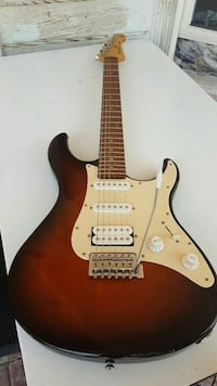 brown and black electric guitar Calistoga, 94515