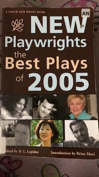 New playwrights the best of 2005 Catonsville, 21228