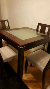 dining table with four chairs  Toronto, M1L 1L3