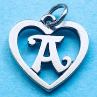 James Avery Retired Sterling Silver 925 Initial A Heart Charm San Antonio, 78240