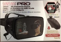 DREAM VISION PRO Virtual Reality Smartphone Headset + The Guardian Killing Zone Montreal East