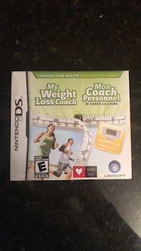 Nintendo DS My weight coach game Vaughan, L6A 2H9