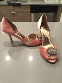 Used Pink Cocktail/wedding shoes New York, 10471