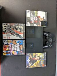 Sony PS2 Slim controller and games 545 km