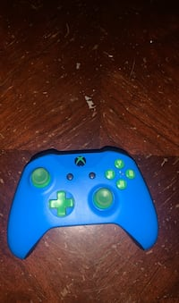 Customized Xbox One od Xbox One S Blue And Green Controller