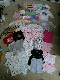 baby's assorted clothes Candler, 28715