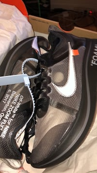 Off white zoom fly size 9  Springfield, 22151