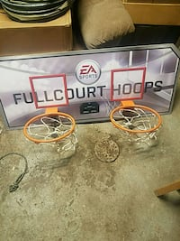 basketball hoops trying to sale fast