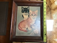Vintage Picture of two kitty's.  Glen Mills