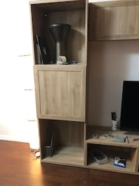 Tv console and cabinet