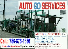 AUTO Transport, Car Shipping, Transporte in the US