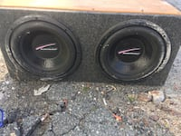 Kenwood amp and two 10inch subs  Fall River, 02724